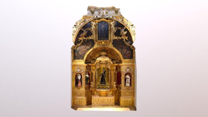 Retablo de la Cofradía Marraja (Cartagena) 3D Model