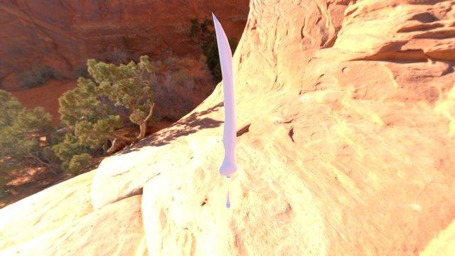 Sword (Test sketchfab). 3D Model