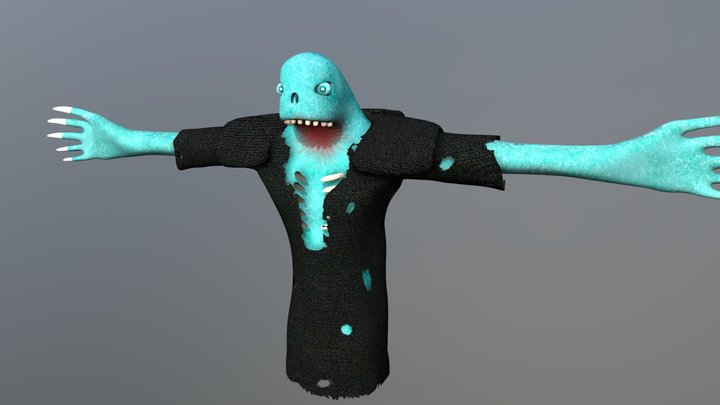 Wrath of the Dead 3D Model