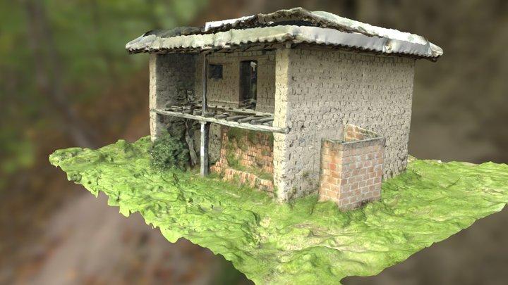 Casa de Adobe 3D Model