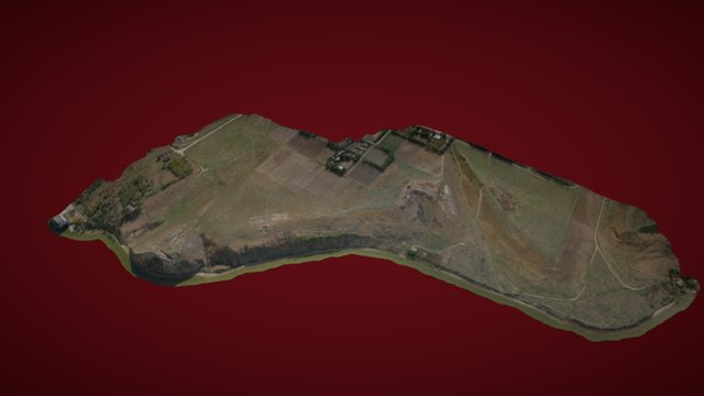 3D Model of Sultana archeological site 3D Model