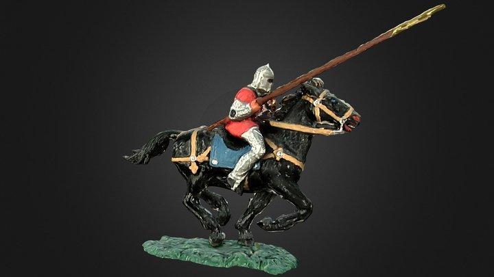 Elastolin norman horseman 3D Model