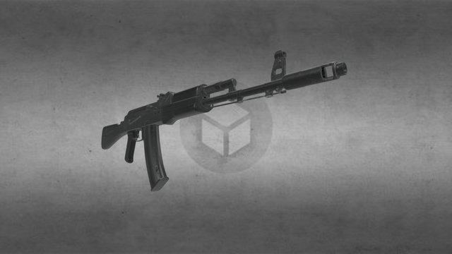 AK-74m (Kalashnikov) 3D Model
