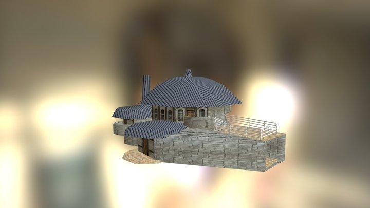 Weird House 3D Model