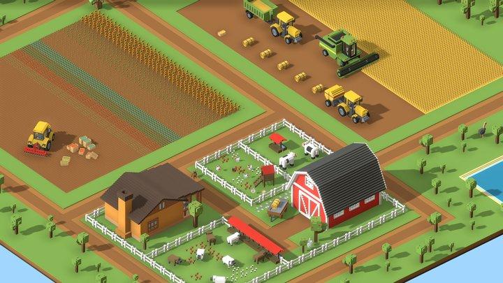 Voxel Farm 3D Model