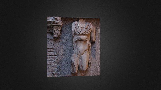 Busto da Albano Laziale 3D Model