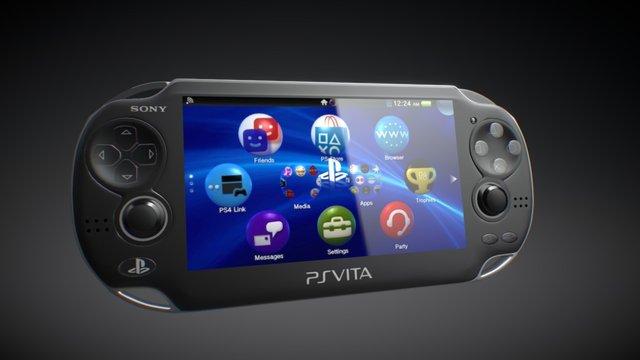 PlayStation Vita 3D Model