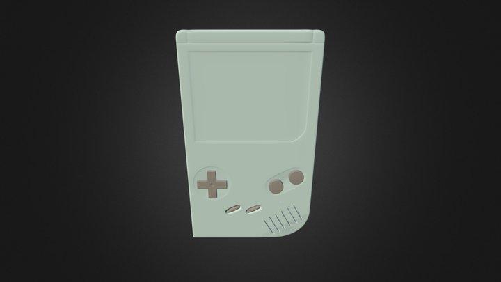 GameBoy test 3D Model
