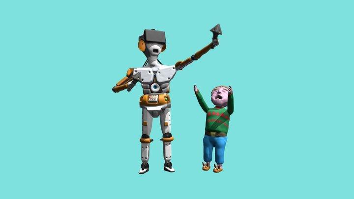 #CyborgHolidays Entry 3D Model