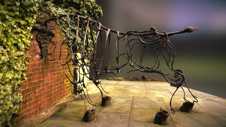 Bull at the Gate by Marcel Baettig (1995) 3D Model