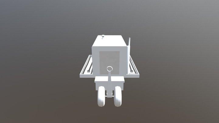GPU 3D Model