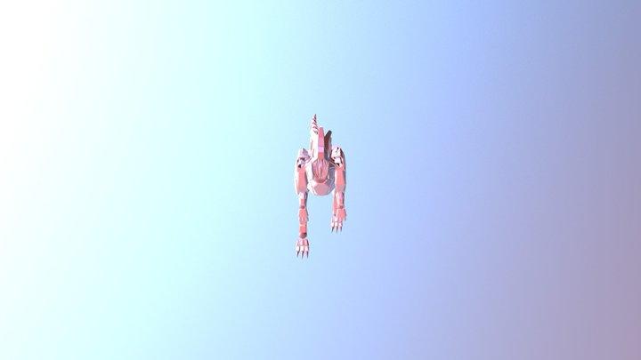 Masiakasaurus Movement Anim 3D Model