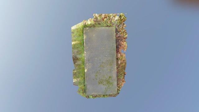 Listed Grave Slab in Kettlewell 3D Model