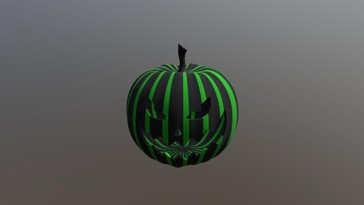 Pumkin Head 3D Model