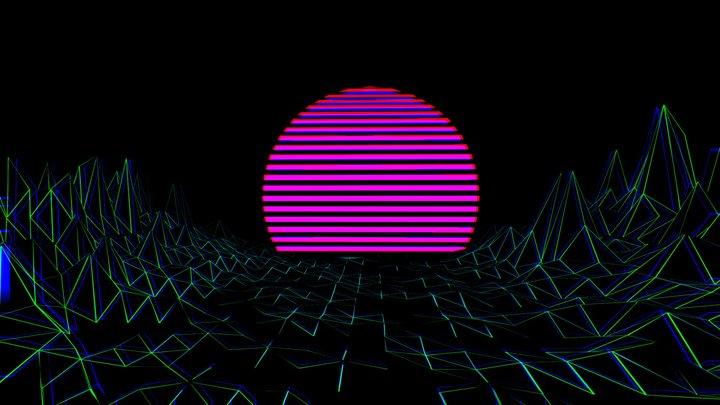 V Apour Wave 3D Model