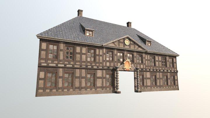 Christiania Tredje Tollbod (fasade) 3D Model
