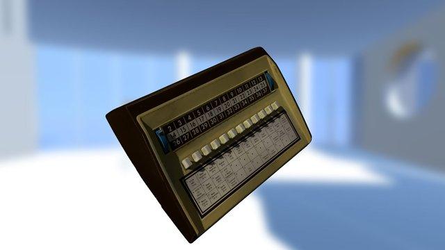 Jerrold Cable TV Set-top Box 3D Model