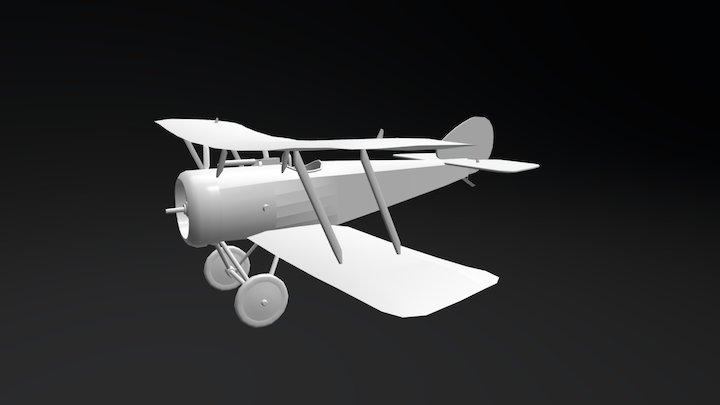 Sopwith Pup - la Première Guerre mondiale 3D Model
