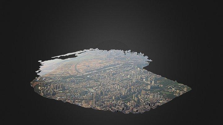 City Mesh 3D Model