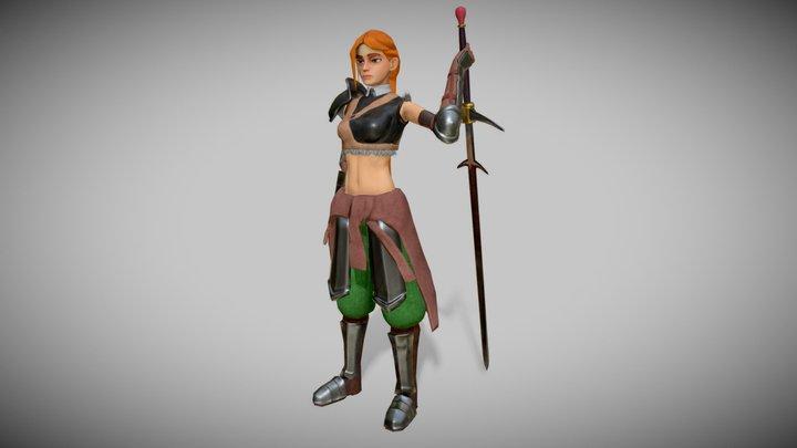 Knight by Ohnarev 3D Model