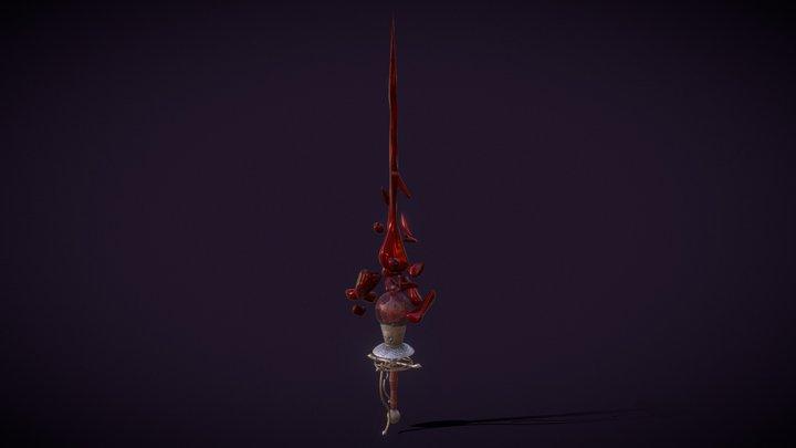 Blood Rapier 3D Model