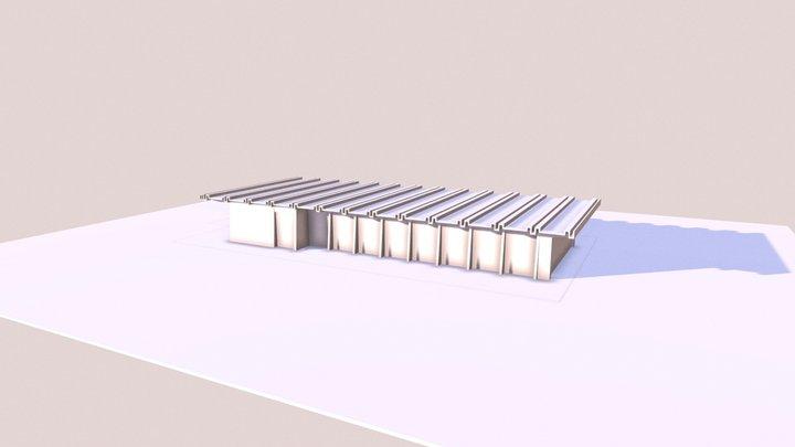 Maquetebalneário- Vista3D-{3D} 3D Model