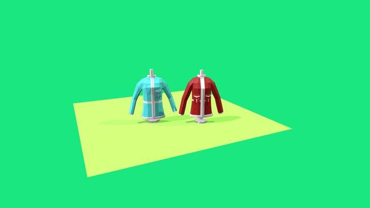 3December Day 1 Coat Winter 3D Model