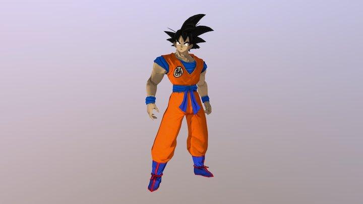Goku 3D Model
