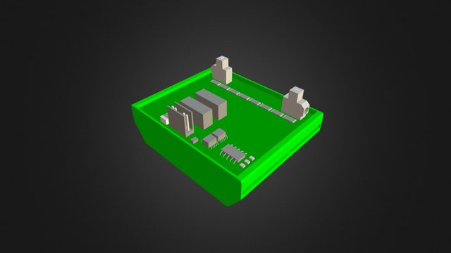3Dmodel Voltage - Monsol 1000/1500 V malo 3D Model
