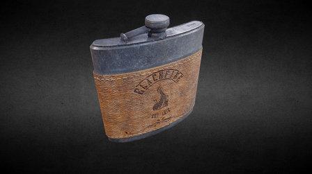 Western flask (final) 3D Model