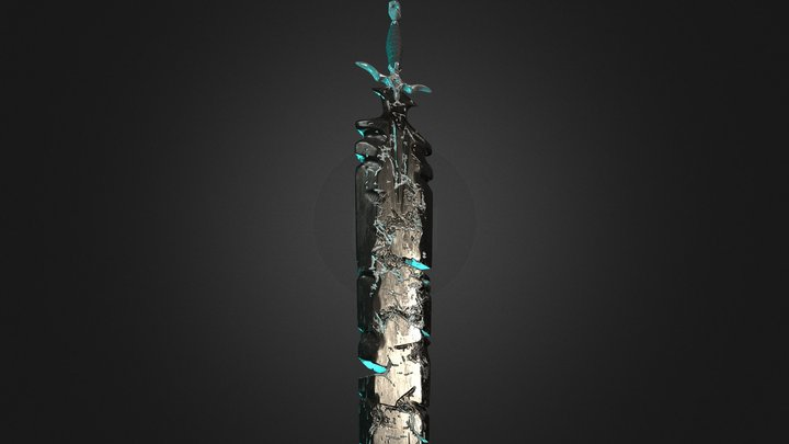 The Blade of Dunihn 3D Model