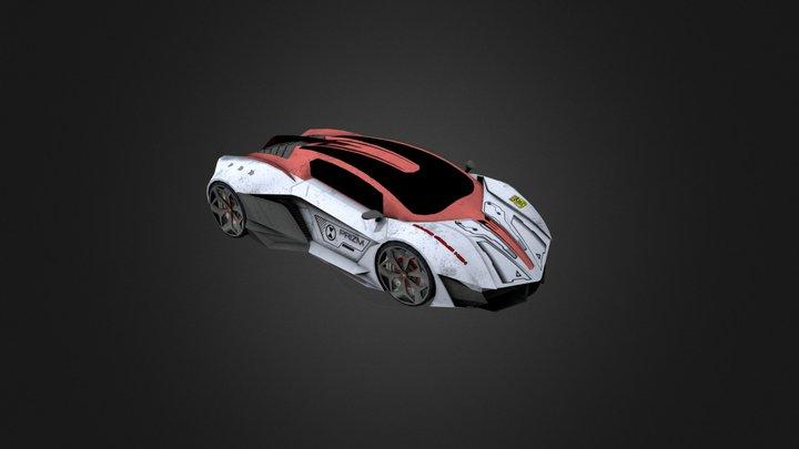 Lamborghini(Game car) 3D Model