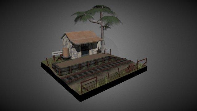 Stringybark Station 3D Model
