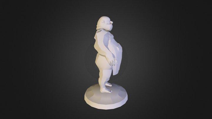 581689 Cordoba Sergio Mod Personaje 3D Model