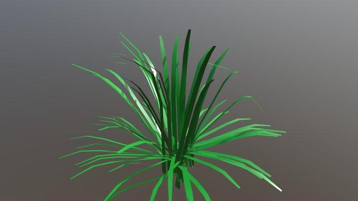 Seagrass 3D Model