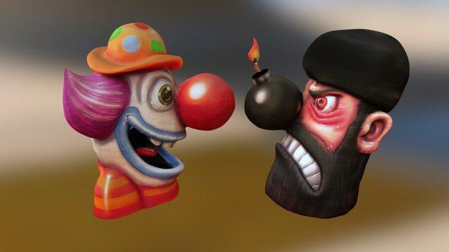 Jeck Terror (Duesseldorf Carnival 2016) 3D Model