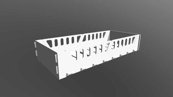 Cama de Solteiro Girassol 3D Model