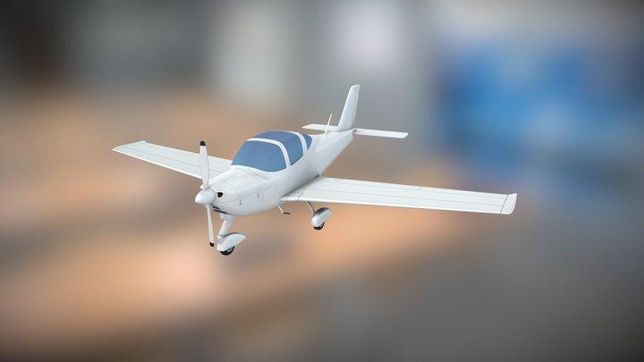 Tecnam P2002 Sierra airplane 3D Model