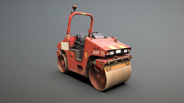 Road Roller ARP 35 3D Model