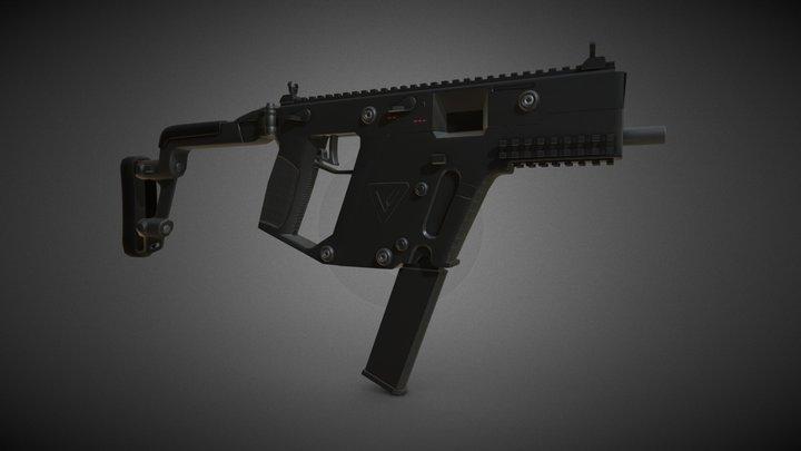 Kriss Vector Gun 3D Model