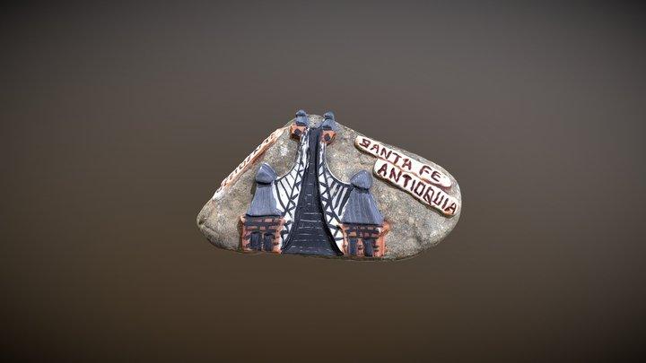 Souvenir Santa Fe de Antioquia, Colombia. 3D Model