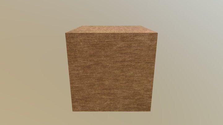 Cube Target Test 3D Model