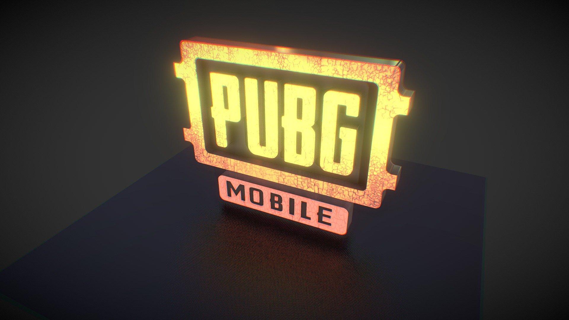 PUBG Mobile Logo Lightbox - Download Free 3D model by ...