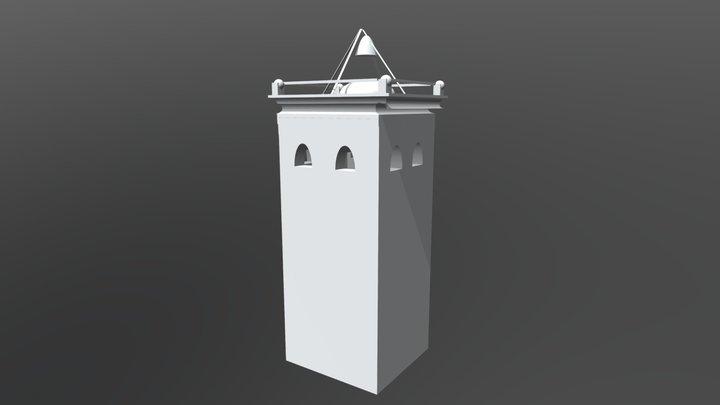 T87 Torre do tempo 3D Model