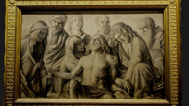 Compianto sul Cristo morto - Bellini 3D Model