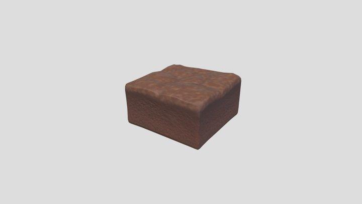 Brownie 3D Model