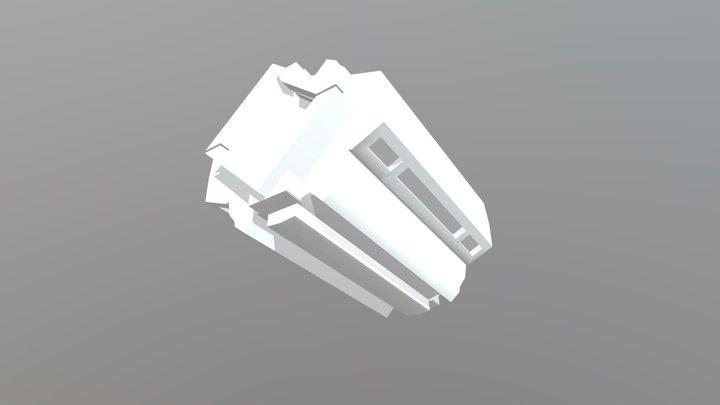 CYLINDER CHAMBER 3D Model