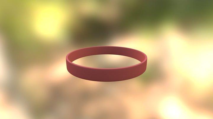 Wristband test 3D Model