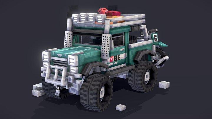 Offroad Truck 3D Model