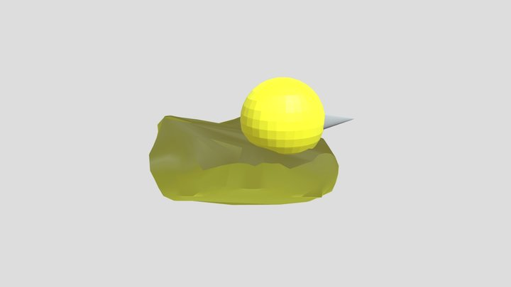 Badly made rubber duck 3D Model